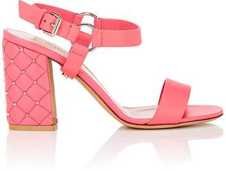 "Valentino Women's ""Free Rockstud Spike"" Leather Sandals"