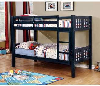 Furniture of America Sophie Twin Over Twin Bunk Bed, Multiple Colors Available