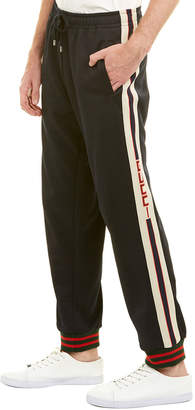 Gucci Technical Jersey Wool-Blend Pant
