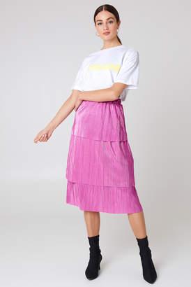 Na Kd Trend Triple Layer Midi Skirt