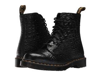 Dr. Martens Pascal Croco 8-Eye Boot Women's Boots