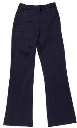 Self-Portrait Mid-Rise Wide-Leg Pants w/ Tags