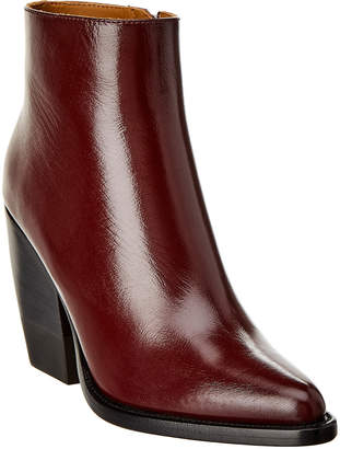 Chloé Rylee Leather Ankle Boot
