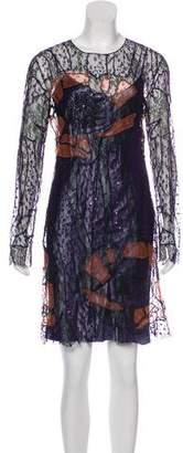 Nina Ricci Lace Long Sleeve Dress w/ Tags