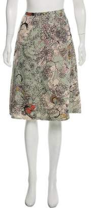 Cacharel Wool Knee-Length Skirt w/ Tags