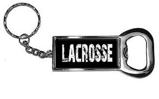 LaCrosse Generic Keychain Key Chain Ring Bottle Bottlecap Opener