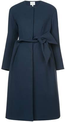DELPOZO crepe bow coat