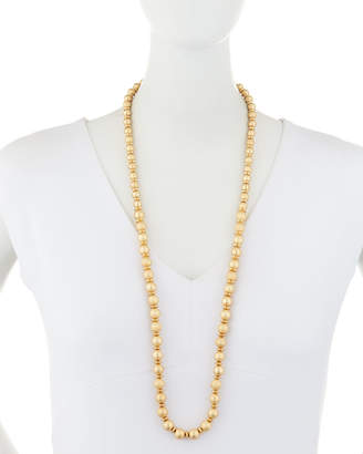 """Lydell NYC Long Single-Strand Bead Necklace, 34""""L"""