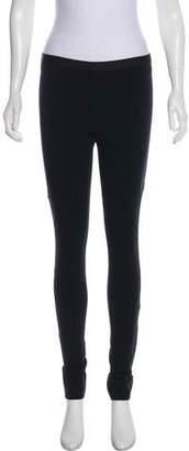 Helmut Lang Mid-Rise Skinny Leggings