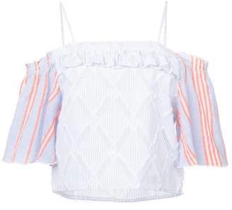 Lemlem Besu off shoulder blouse
