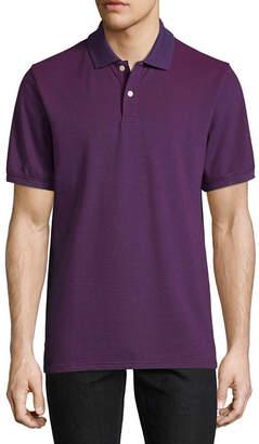 ST. JOHN'S BAY Short-Sleeve Legacy Oxford Piqu Polo