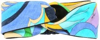 Emilio Pucci Printed Cotton Headband