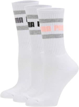 Women's Terry Crew Socks (3 Pack)