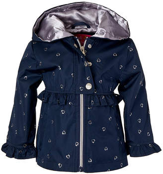 Pink Platinum Trench Coat Toddler Girls