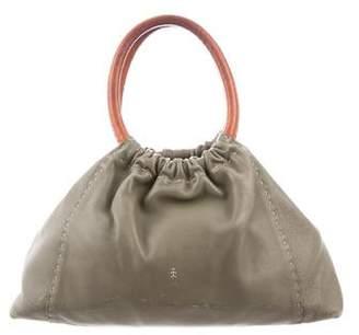 Henry Beguelin Azaleas Handle Bag