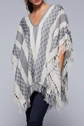 Love Stitch Lovestitch The Jacquard Poncho