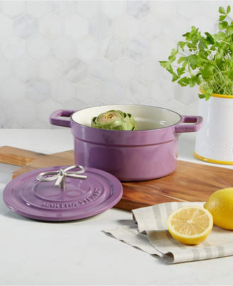 Martha Stewart Collection Collection Enameled Cast Iron 2-Qt. Dutch Oven, Created for Macy's & Reviews - Cookware & Cookware Sets - Kitchen - Macy's