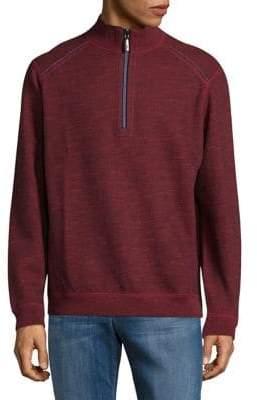 Tommy Bahama Flipsider Reversible Half Zip Sweatshirt