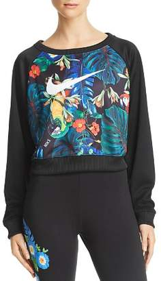 Nike Hyper Tropical Cropped Sweatshirt