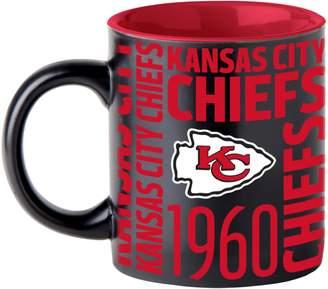 Boelter Kansas City Chiefs Matte Black Coffee Mug
