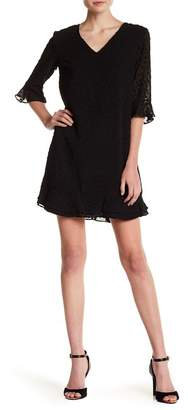 Cynthia Steffe CeCe by Kate Textured Ruffle Dress