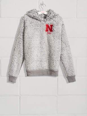 Victoria's Secret Victorias Secret University of Nebraska Sherpa Raglan Pullover