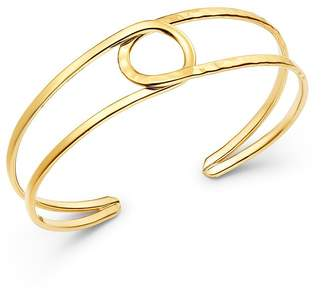 Bloomingdale's 14K Yellow Gold Circle Cuff - 100% Exclusive