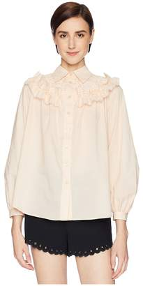 See by Chloe Embellished Blouse Women's Blouse
