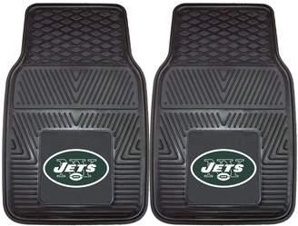 Fanmats FANMATS 2-pk. New York Jets Car Floor Mats