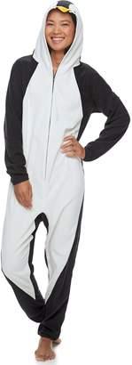 Original Penguin Women's Jammies For Your Families Penguin Family Pajamas Microfleece One-Piece Pajamas