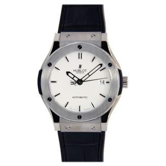 Hublot Classic Fusion White Titanium Watches
