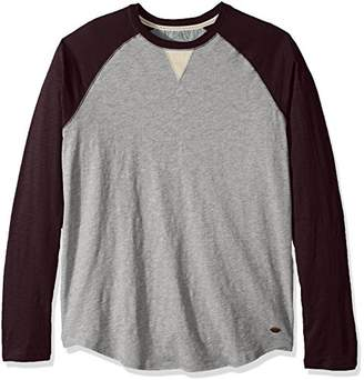 True Grit Men's Vintage Baseball Raglan Long Sleeve T-Shirt