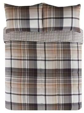 Eddie Bauer Normandy Plaid Three-Piece Comforter Set