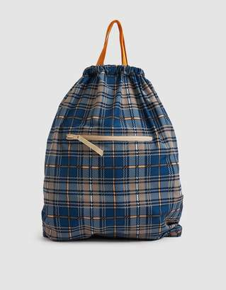 Hope Zack Bag in Check Print