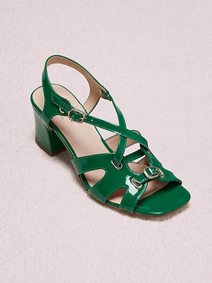 Kate Spade Ella Sandals, Green Bean - Size 5