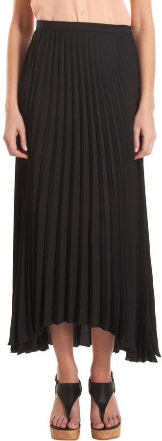 Barneys New York CO-OP Pleated Maxi Skirt