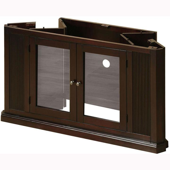 Venetian Worldwide Rockwell Espresso Storage Entertainment Center