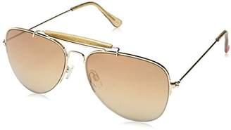 Betsey Johnson Women's Maritza Aviator Sunglasses