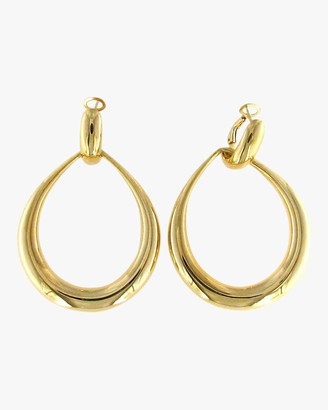 Roberto Coin Gold Contoured Door Knocker Earrings