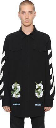 23 & Stripes Cotton Canvas Shirt $617 thestylecure.com