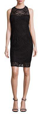 Nanette Lepore Crossback Lace Dress $298 thestylecure.com