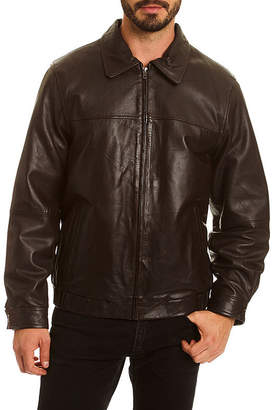 Excelled Leather Leather Blazer Big and Tall