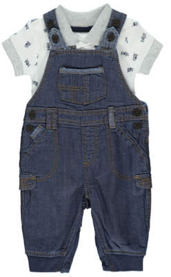 George Dungarees and Bodysuit Outfit