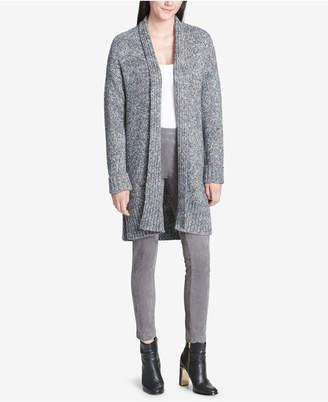 Calvin Klein Open-Front Long Cardigan