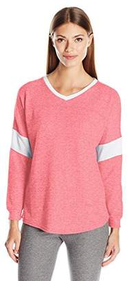 Jessica Simpson The Warm Up by Women's Varsity Pullover Top