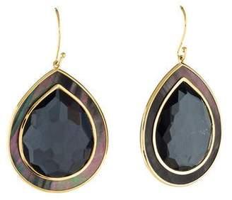 Ippolita 18K Mother of Pearl, Quartz & Hematite Doublet Earrings