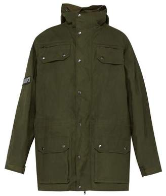 Vetements Military Style Cotton Parka - Mens - Green