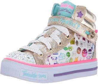 Skechers Girls' Shuffles-Giggle Glam Sneaker