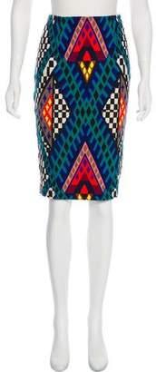 Mara Hoffman Printed Knee-Length Skirt w/ Tags
