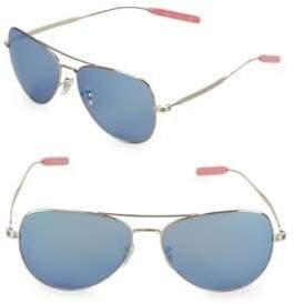 Paul Smith Davison 58MM Aviator Sunglasses